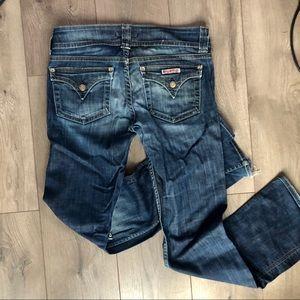 Hudson Jeans Jeans - Hudson Jeans Boot cut 29 knee holes flap pockets